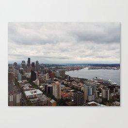 Space Needle (Seattle, WA) Canvas Print