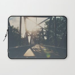 crossing the Mississippi ... Laptop Sleeve