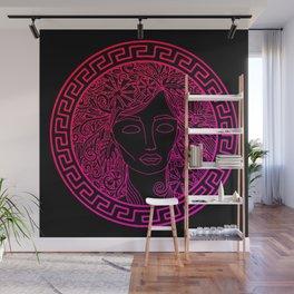 GREEK GODDESS in ROSE Wall Mural