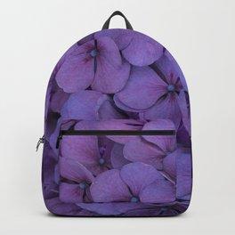 Purple hydrangea Backpack