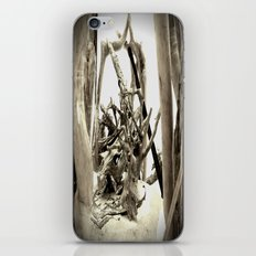Driftwood (B&W) iPhone & iPod Skin