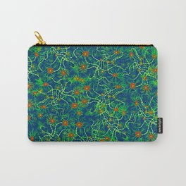Neurons (blue and green) Carry-All Pouch