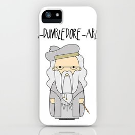 A-DUMBLEDORE-ABLE.  iPhone Case
