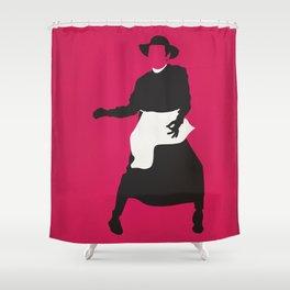 Qua la Mano Shower Curtain