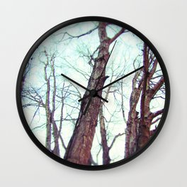 Dances With Deer Wall Clock