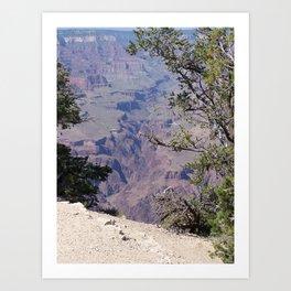 Grand Canyon perfect view Art Print