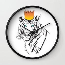 Shere Khan (Tiger King)  Wall Clock