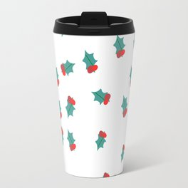 Ditsy Mistletoe Travel Mug