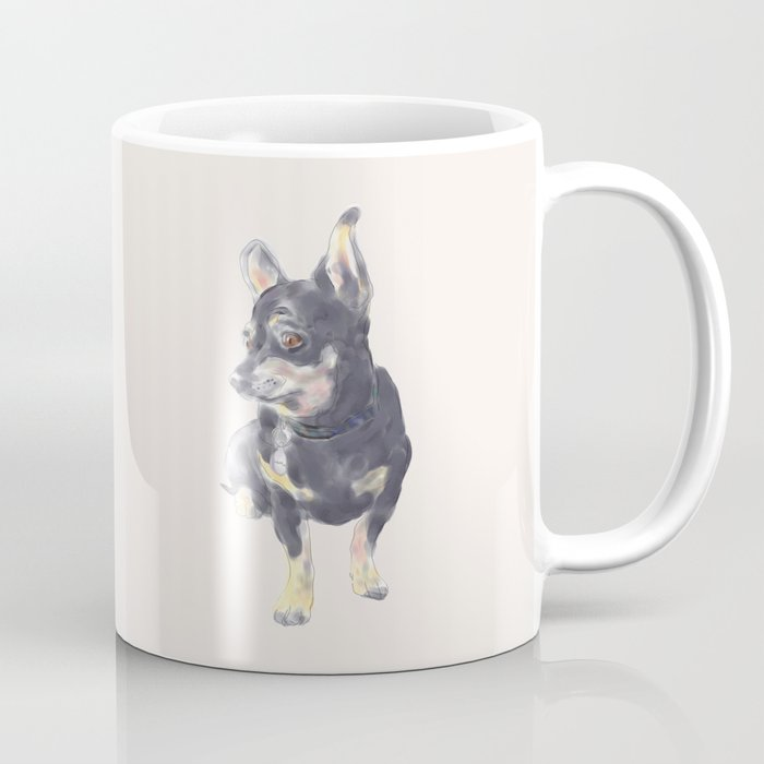 Little Dog Waiting Coffee Mug
