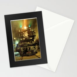 UP 9000. Union Pacific. Steam Train Locomotive. © J&S Montague. Stationery Cards