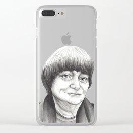 Agnes Varda Clear iPhone Case