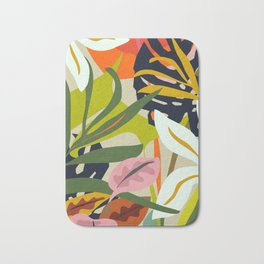Jungle Abstract 2 Bath Mat