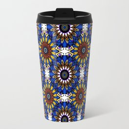 The Damascus pattern . Travel Mug