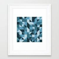 industrial Framed Art Prints featuring Industrial by Matt Borchert