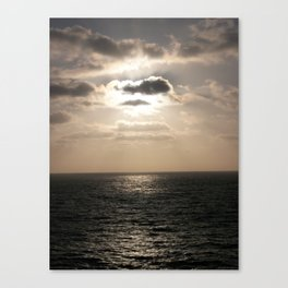 Light Over The Pacific Canvas Print