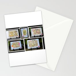 Sweet Life 4 Stationery Cards