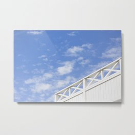 SWEDISH SUMMER I Metal Print