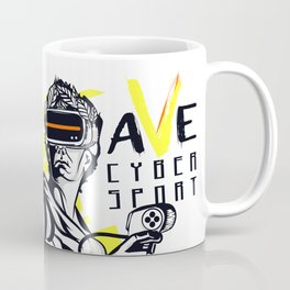 Caesar knows a lot about games! Coffee Mug