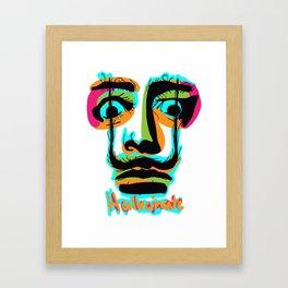 Hallucinate Dali Framed Art Print