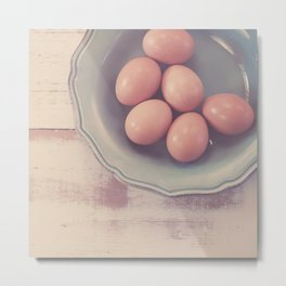 Farm Fresh Metal Print