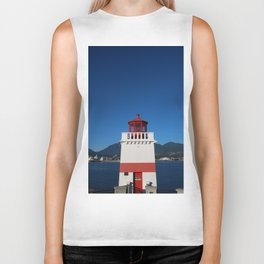 Brockton Point Lighthouse Biker Tank
