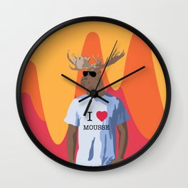 It's punny you should say that Wall Clock