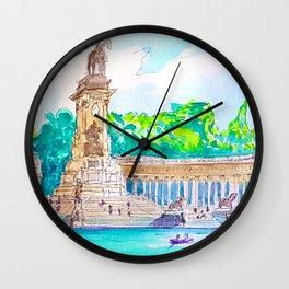 parque del retiro. Madrid Wall Clock