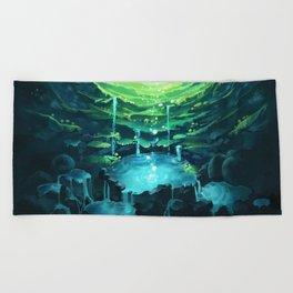 Underground Beach Towel