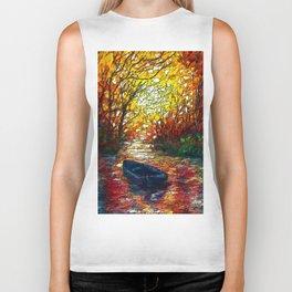 OLena Art, sunset, landscape, artwork, artistic, impressive, illustration, painting, sceni OLena Art Biker Tank