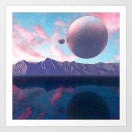 Analogue Sky Art Print