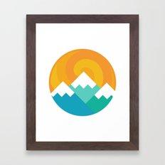 Mountain Alternative Framed Art Print