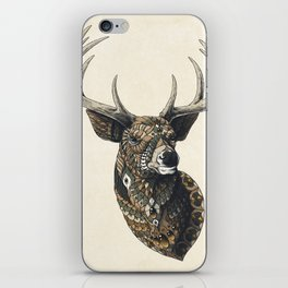 White-Tailed Deer (Color Version) iPhone Skin