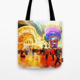 Fremont Street Experience Las Vegas Tote Bag