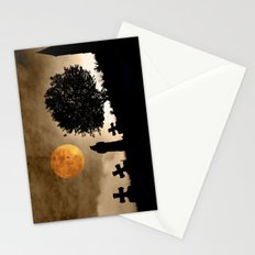 The old graveyard Stationery Cards