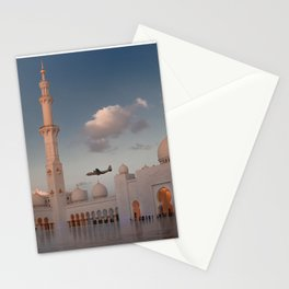 White Mosque in Abu Dhabi 2 Stationery Cards