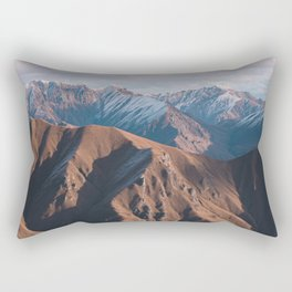 Mount Aspiring National Park Rectangular Pillow