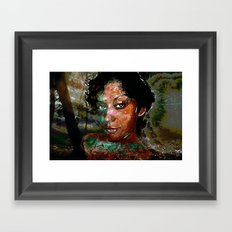 Gina Framed Art Print