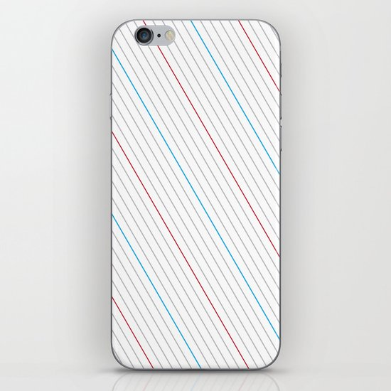 Simple Lines iPhone & iPod Skin