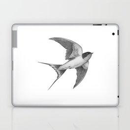 Barn Swallow - mono Laptop & iPad Skin