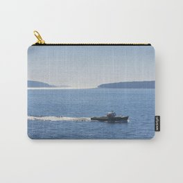 Lobster Boat And Islands Off Mount Desert Island Maine Carry-All Pouch