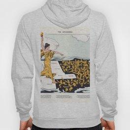 The Awakening By Hy Mayer 1915 Women's Suffrage Hoody