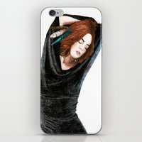 calm iPhone & iPod Skins featuring CALM by Carlos ARL