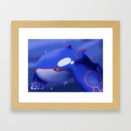 Kyogre Framed Art Print