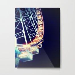 Roue de Paris Metal Print