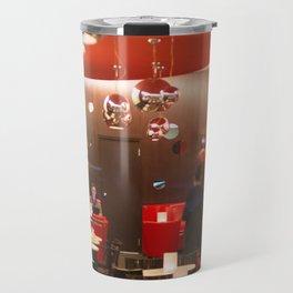 Red café PARIS Travel Mug