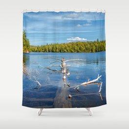 Smoke Lake Shower Curtain
