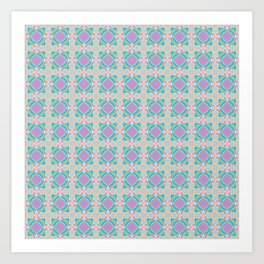 Graphic Art Pattern-P3-C5 Art Print