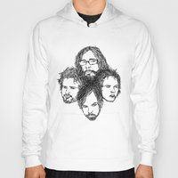 leon Hoodies featuring Kings of Leon by Simone Rohler Art