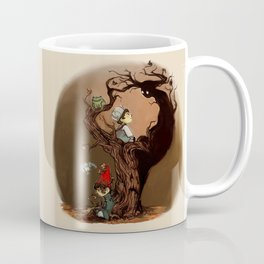 Over The Garden Wall- Wirt, Greg, Beatrice, and The Beast Coffee Mug