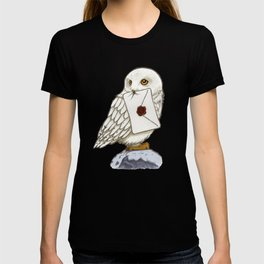 Hedwig Owl with Message T-shirt